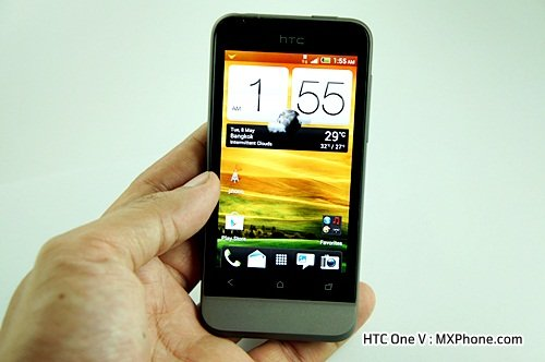HTC One V review htc