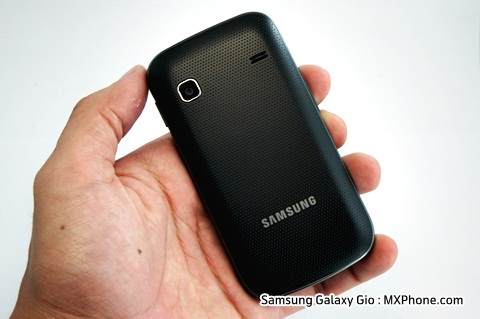Samsung Galaxy Gio S5660 samsung review