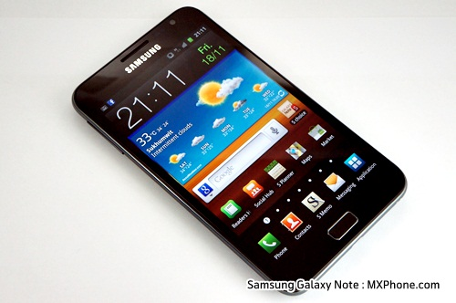 Samsung Galaxy Note  N7000 samsung review