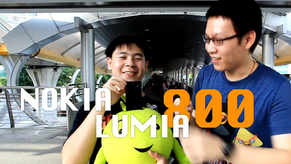 Power ON #012 : Nokia Lumia 800