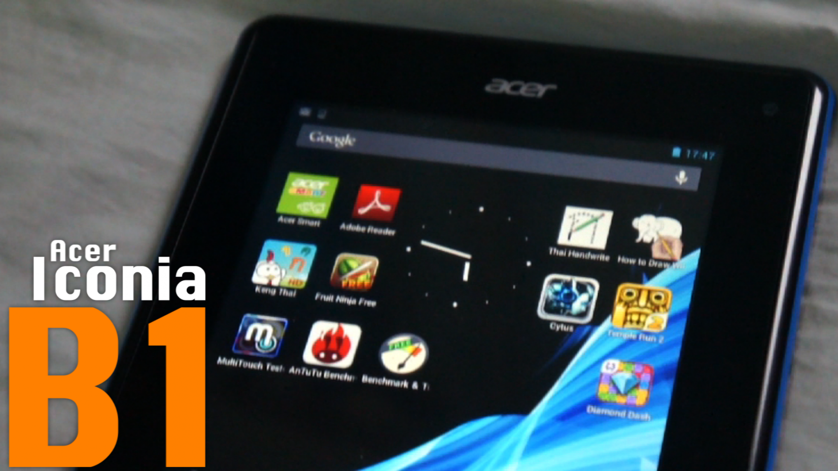 Power ON #046 : Acer Iconia B1