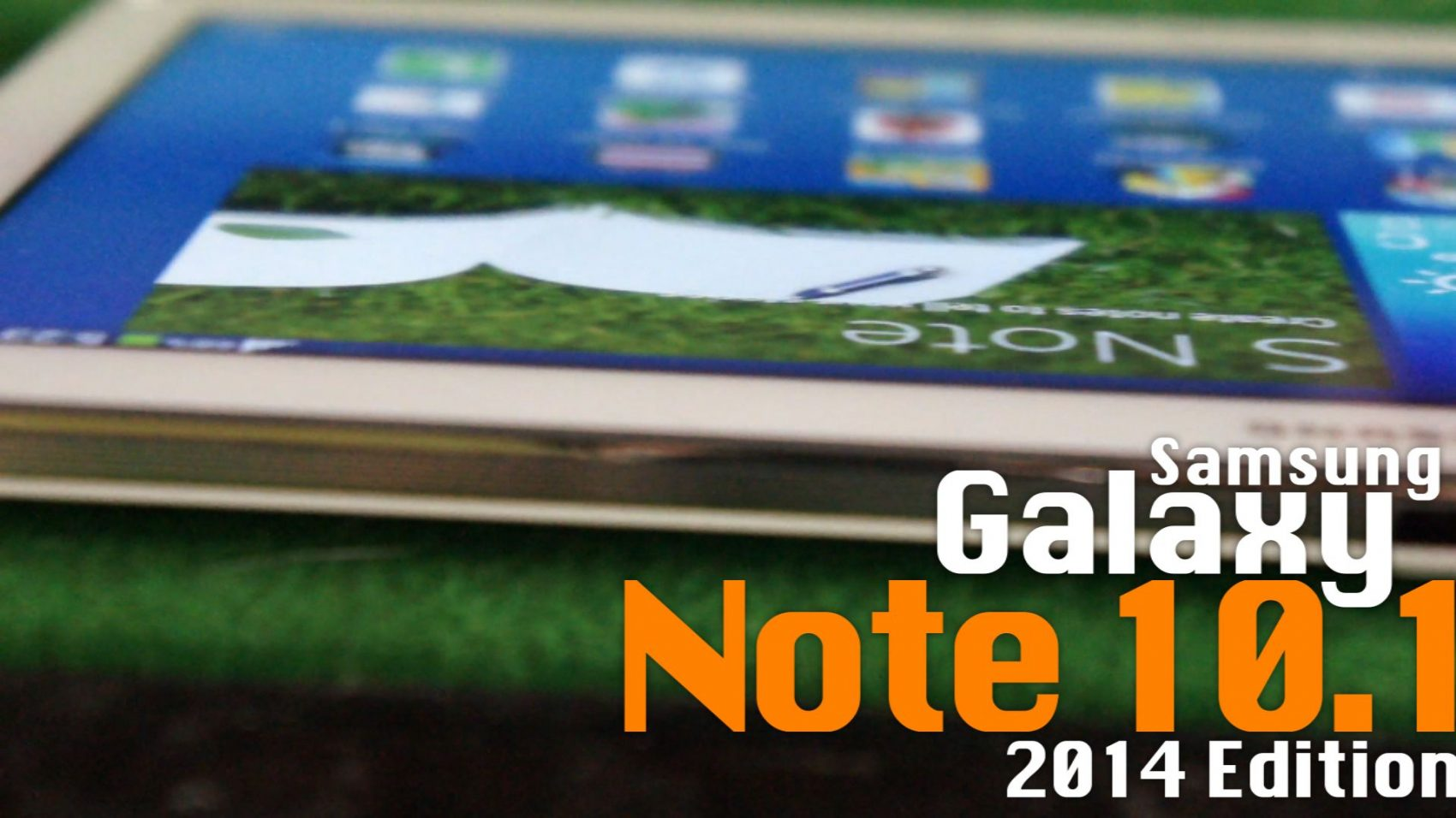 Power ON #075 : Samsung Galaxy Note 10.1 (2014 Edition)