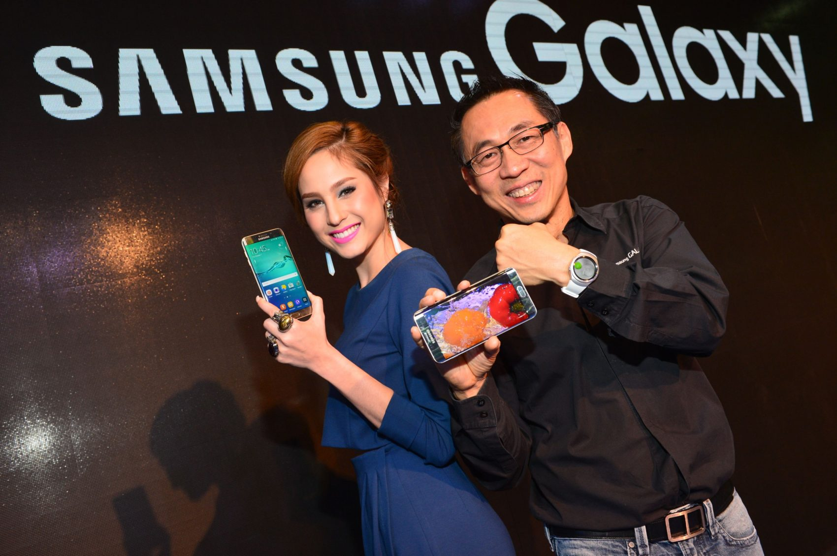 Samsung เปิดตัว Galaxy S6 edge+ และ Gear S2 ในงาน Thailand Mobile Expo 2015 Showcase