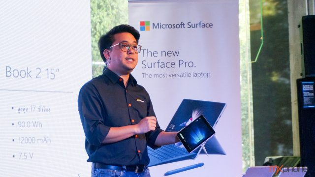 Microsoft ส่ง Surface Pro 6/ Surface Laptop 2 /Surface Go LTE บุกไทย