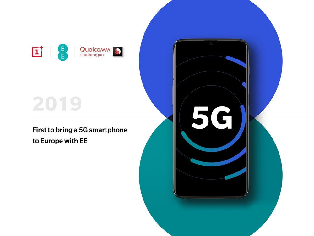 OnePlus is First to bring a 5G smartphone to Europe with EE