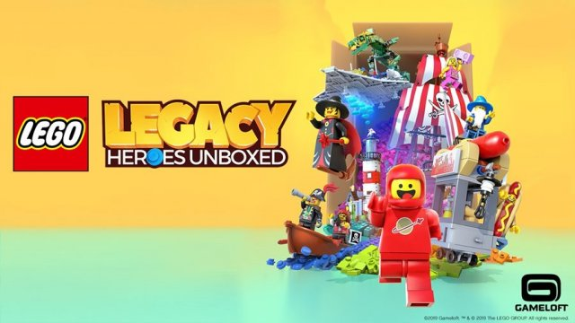 "Gameloft และ The LEGO Group เปิดตัว ""LEGO Legacy: Heroes Unboxed"""