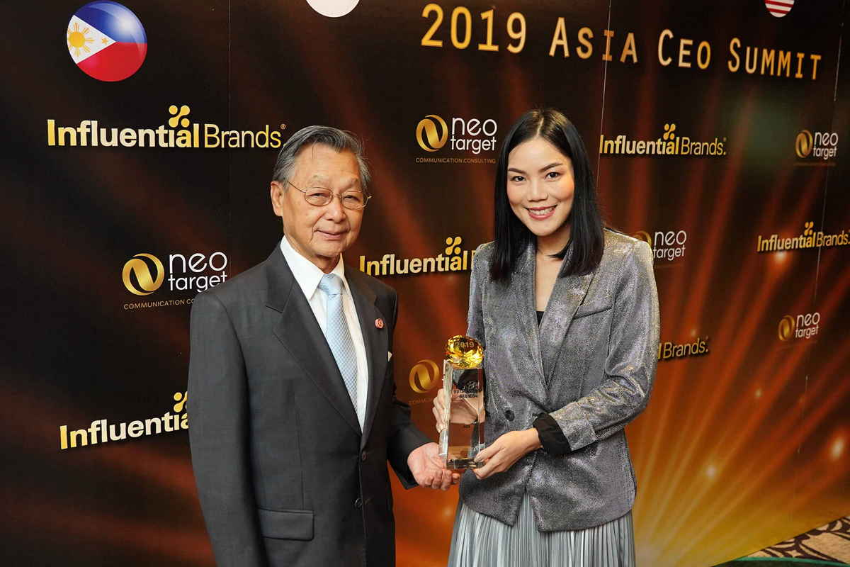 AIS wins Outstanding Brand at the 2019 Asia's CEO Summit & Award Ceremony.