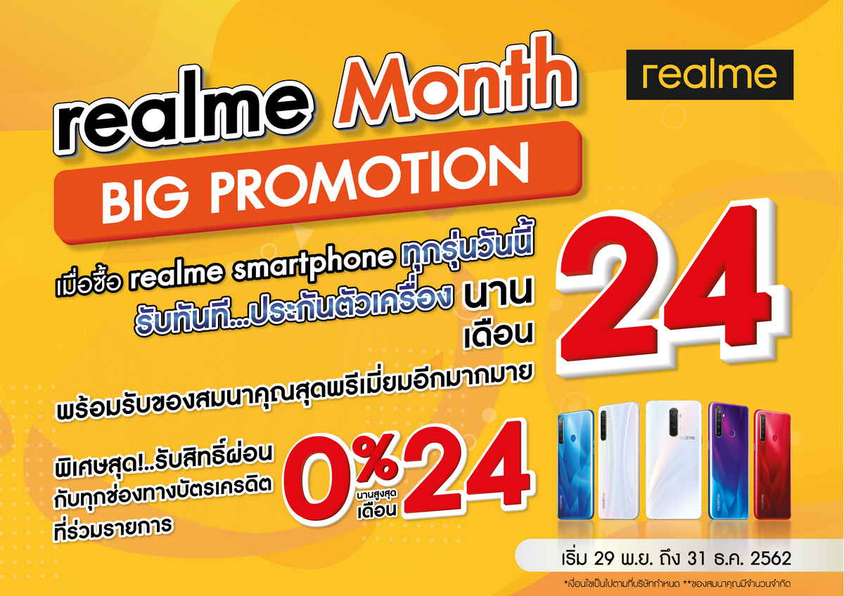 realme Month Big Promotion