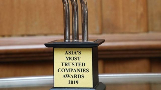AIS แกร่งสุด คว้ารางวัล Asia's Most Trusted Company Awards 2019