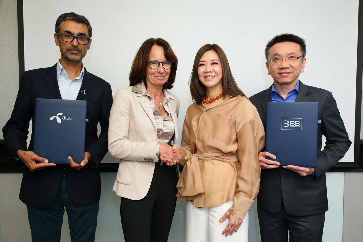 dtac and 3BB enter into strategic partnership, marking historic synergy in Thai telecoms.
