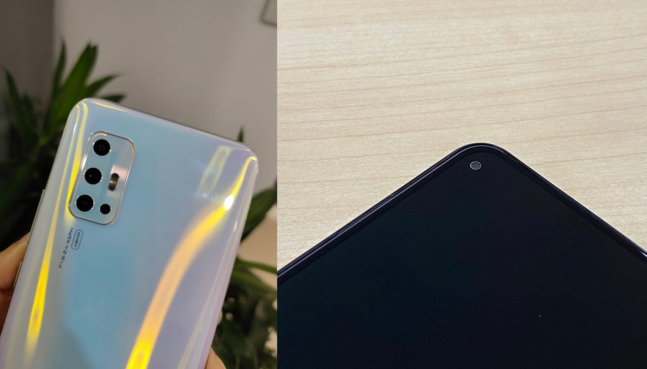 Vivo V17 leaked images.