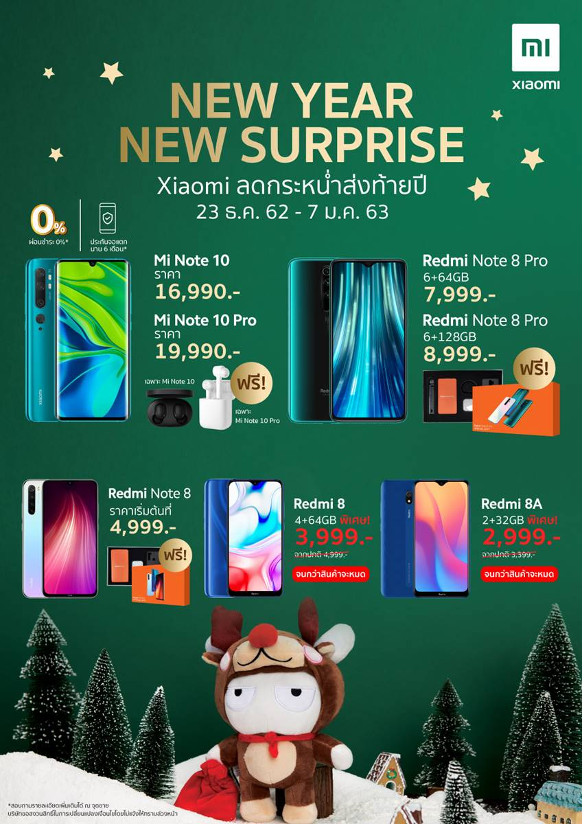 Xiaomi New year promotion 2019