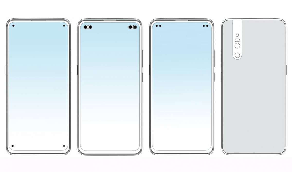 vivo patents several quad punch-hole