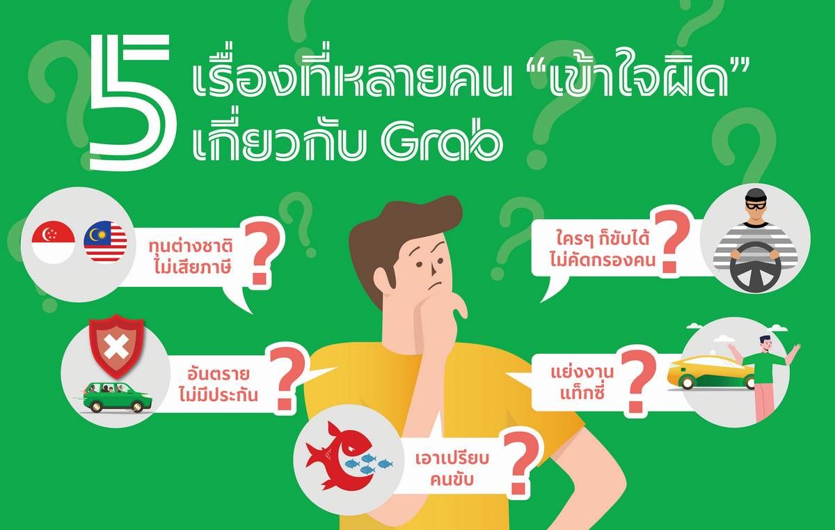 "5 things that many people still misunderstand about ""Grab"""