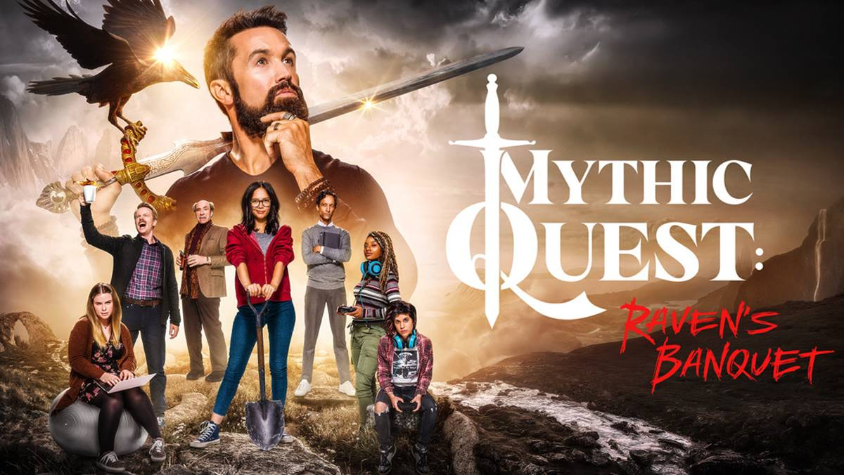 "Apple's new comedy series ""Mythic Quest: Raven's Banquet"" to premiere Friday, February 7."