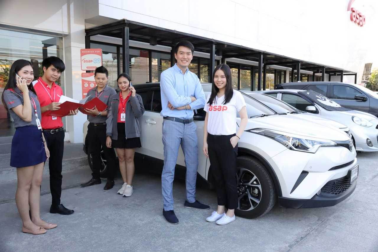 asap Car Rental Teams Up with dtac SME to Provide a No.1 Car Rental Service for SME Businesses
