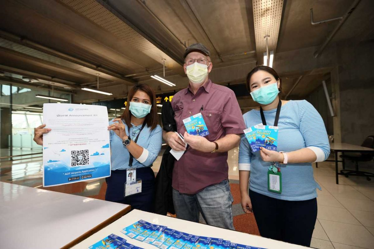 dtac Offers dtac Happy Tourist SIM Cards to Track Foreigners from Countries at Risk of COVID-19