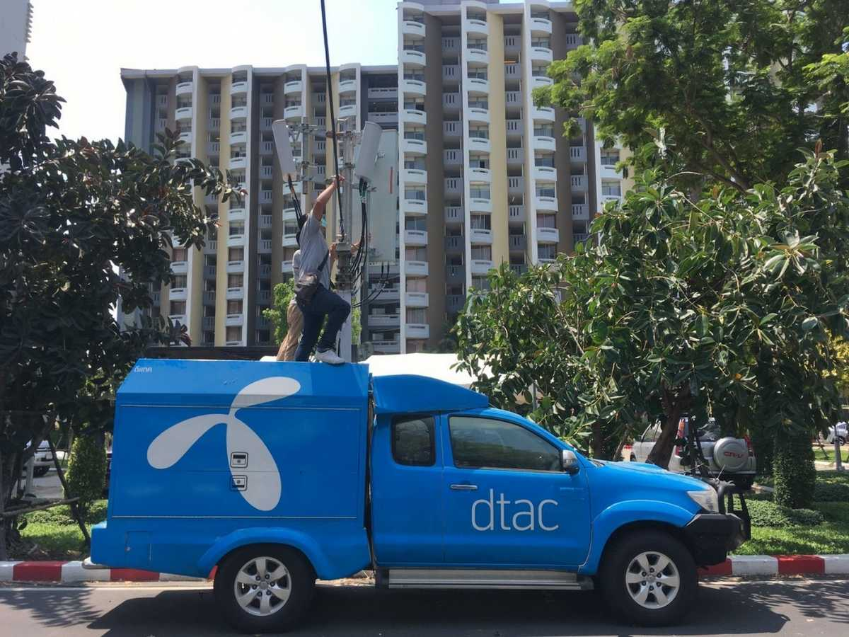 dtac boosts connectivity for COVID-19's frontline