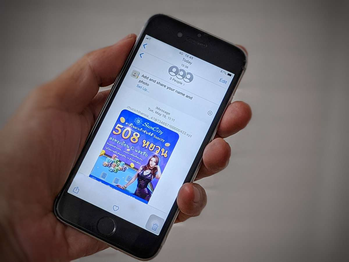 dtac warns iPhone users over iMessage spam