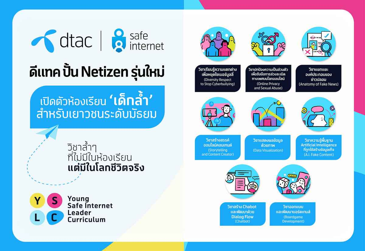 dtac launches online learning camp