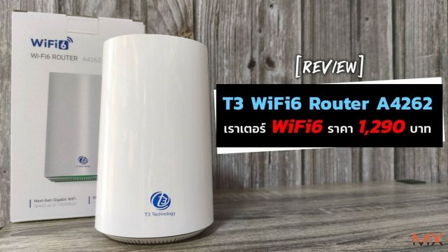 T3 WiFi 6 Router A4262 (AX1500)