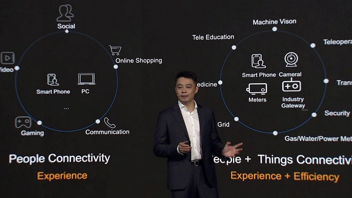 Ritchie Peng 5G Brings New Value to Industries