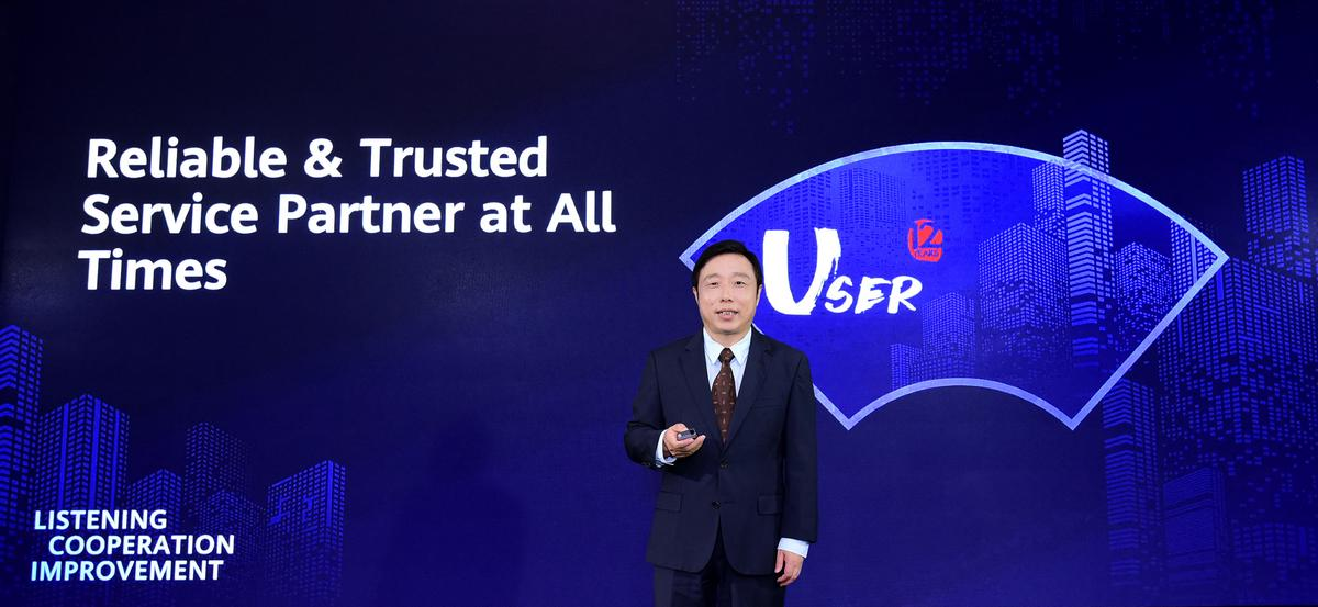 Huawei Bill Tang Reliable and Trusted Service Partner at All Times
