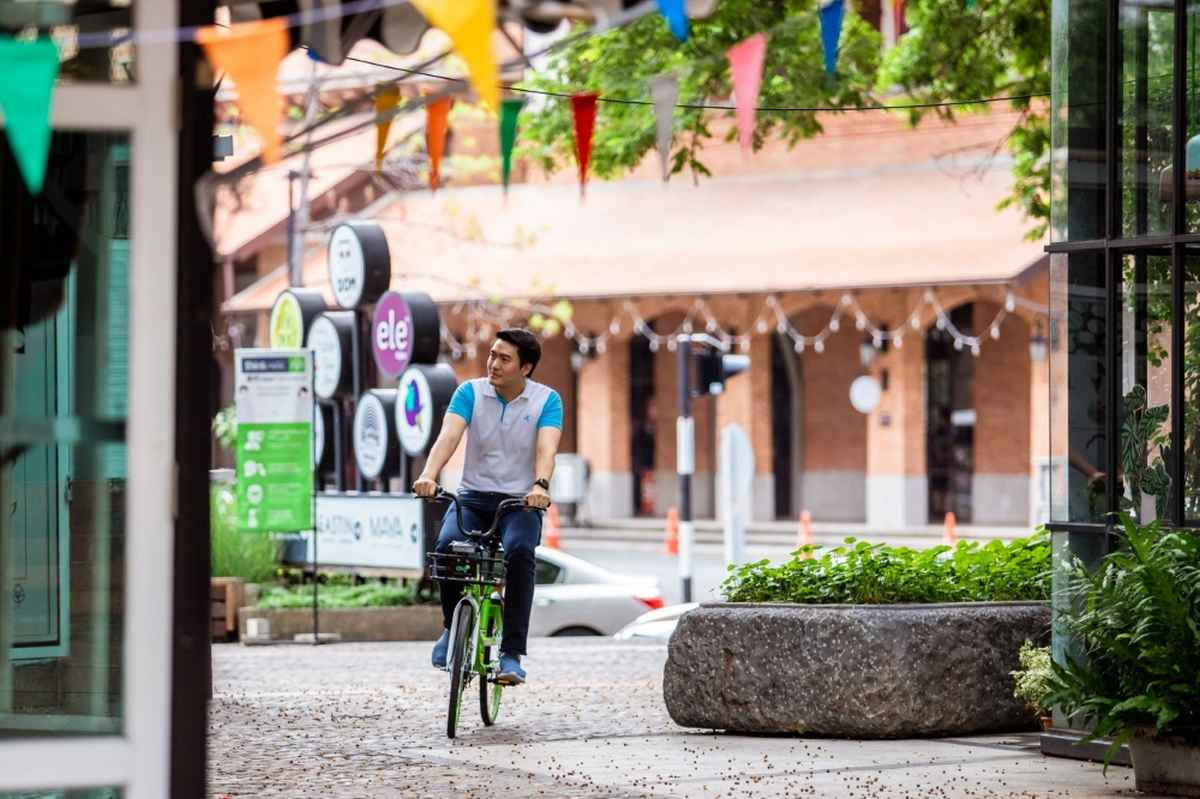 Anywheel and dtac Business IoT bring greener, smarter bike sharing to Chiang Mai