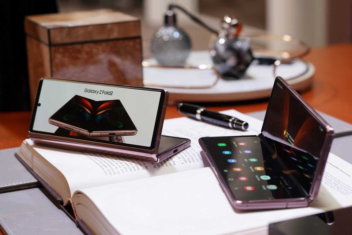 Luxury Meets Productivity Power in the Galaxy Z Fold2 5G